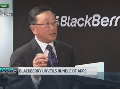 Blackberry goes cross-platform as it unveils devices