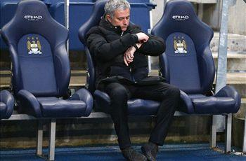 Mourinho wary of Man City games in hand: 'I'm not top of the league'