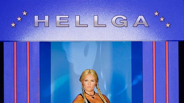 Robin Coleman as Hellga on American Gladiators.