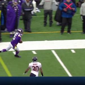 Minnesota Vikings wide receiver Greg Jennings one-handed grab