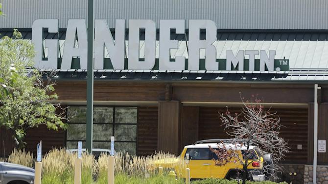 `The Gander Mountain store in Aurora, Colo. is shown, Sunday, July 22, 2012. The is store is where the gunman in Friday's movie theater shooting allegedly purchased one of his weapons. (AP Photo/Ted S. Warren)