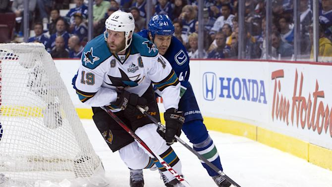 San Jose Sharks v Vancouver Canucks - Game One