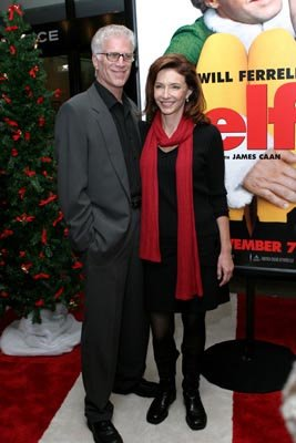 Premiere: Ted Danson and Mary Steenburgen at the New York premiere of New Line's Elf - 11/2/2003