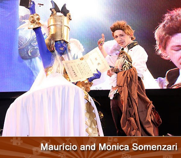 Maurício and Monica Somenzari
