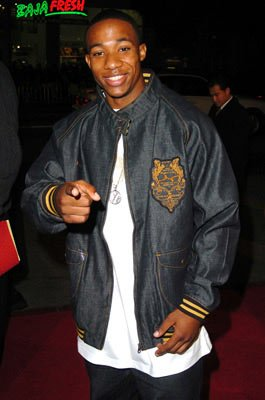 Arlen Escarpeta at the Hollywood premiere of Paramount Pictures' Coach Carter