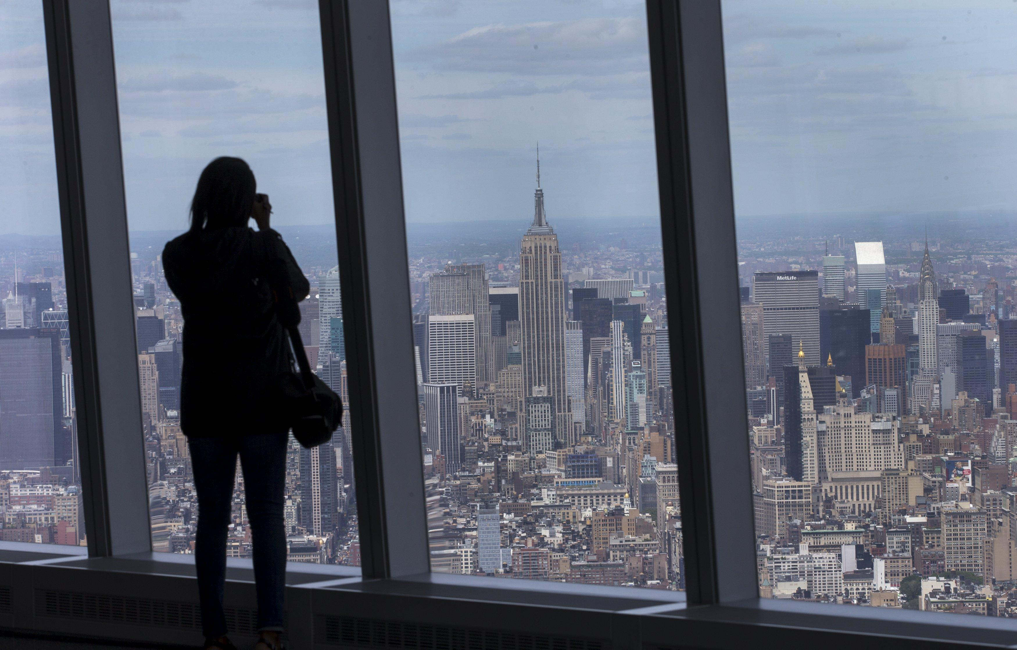 "You can ""see forever"" from the top of One World Trade Center, tallest building in U.S."