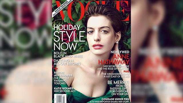 Hathaway Reveals 'Obsessive' Movie Diet