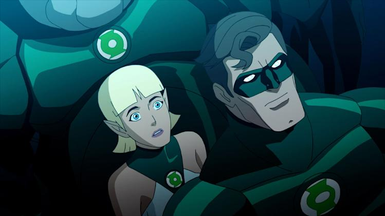 Green Lantern: Emerald Knights Production Stills Warner Premiere 2011