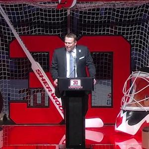 Brodeur honored by Devils