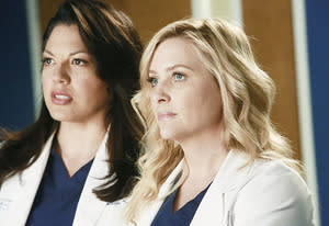 Sara Ramirez and Jessica Capshaw | Photo Credits: Ron Tom/ABC