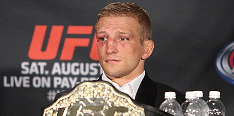 UFC Champ TJ Dillashaw Bolts to Denver-Based Team, Full-Time