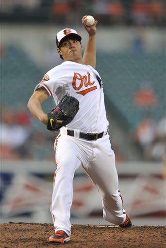 Hellickson leads Rays over Orioles 3-1