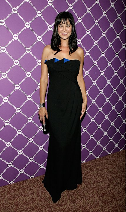 [ytvperson:id=167266]Catherine Bell[/ytvperson] poses for a photo at the Bloomberg Pre-Dinner Cocktail Reception at the Washington Hilton on April 26, 2008 Catherine Bell