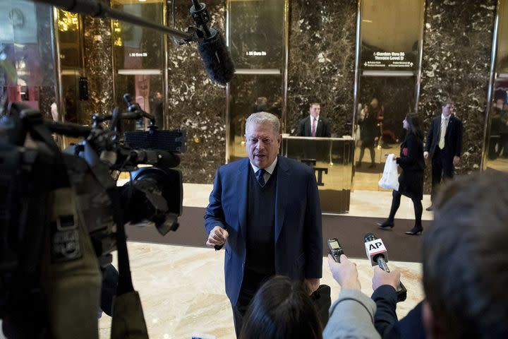 So, that happened: Al Gore meets with Donald and Ivanka Trump on climate