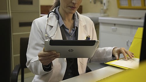 Windows 8 tablet spotted on HP blog