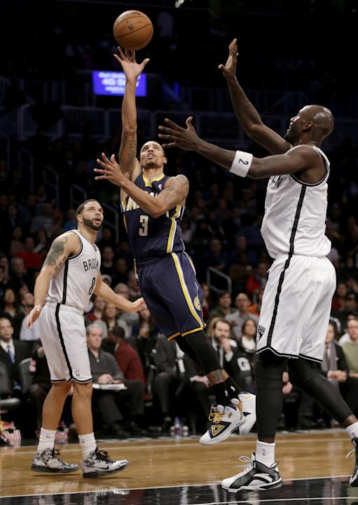 Stephenson, George lead Pacers to rout of Nets