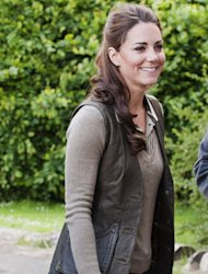 Kate Middleton nailed countryside style yesterday  but which welly look was your fave?