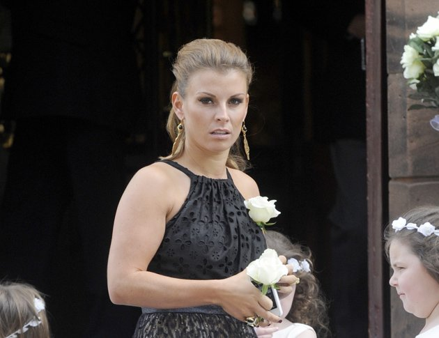 Coleen Rooney at a wedding