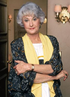 Bea Arthur 'The Golden Girls' on Lifetime Golden Girls