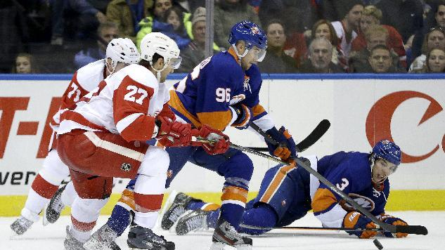 Red Wings shut out Islanders 5-0