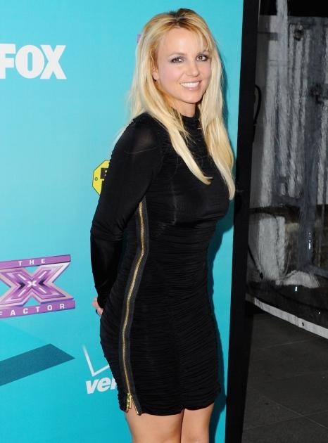 Britney Spears arrives at FOX's 'The X Factor' Finalists Party at The Bazaar at the SLS Hotel Beverly Hills in Los Angeles on November 5, 2012  -- Getty Premium