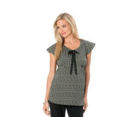 Maternity Short Sleeve Tunic