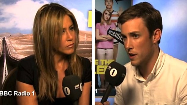 Chris Stark with Jennifer Aniston