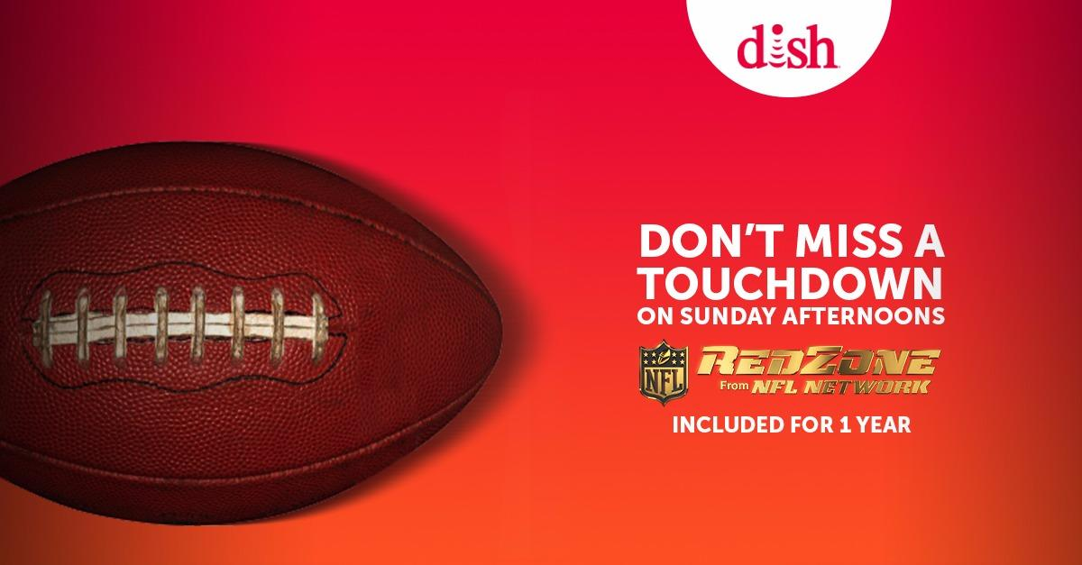 Don't miss a touchdown on Sunday afternoons!