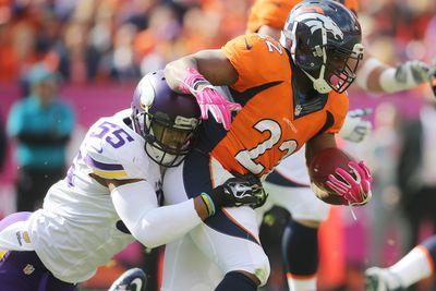 Ronnie Hillman provides spark in Broncos run game, among top waiver wire grabs