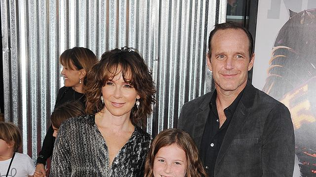 Real Steel 2011 LA Premiere Jennifer Grey Clark Gregg