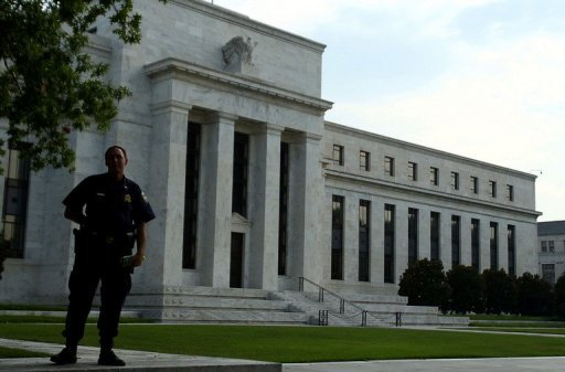 &lt;p&gt;A security guard stands in front of the US Federal Reserve building, on August 08, 2011. The central bank proposed to subject large foreign banks to stress tests in new draft rules unveiled aimed at tightening supervision of the banks.&lt;/p&gt;