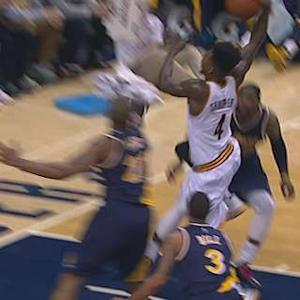 Shumpert Attacks the Rim