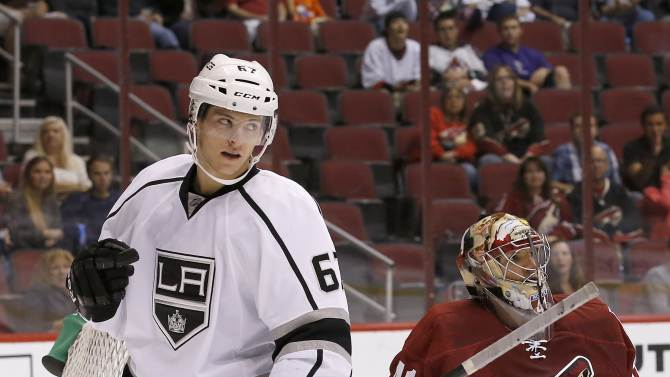 Coyotes beat Kings 5-4 in shootout