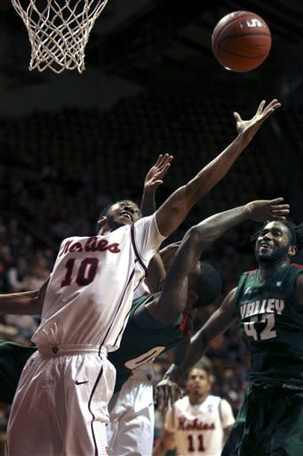 Virginia Tech routs Mississippi Valley State 70-49