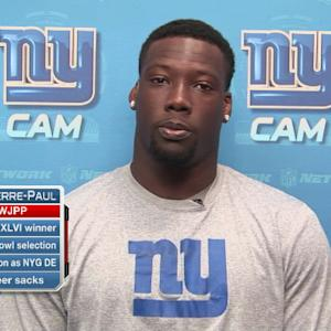 New York Giants defensive end Jason Pierre-Paul: We're talented, but have work to do