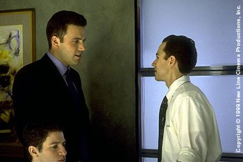 Ben Affleck and Giovanni Ribisi in New Line's Boiler Room