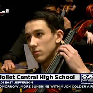 Tuxedos, Holiday Music Mix Well At Joliet Central High School