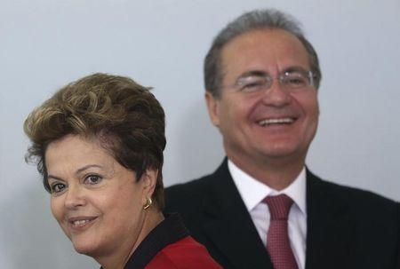 Brazil's crafty Senate boss helps keep Rousseff afloat