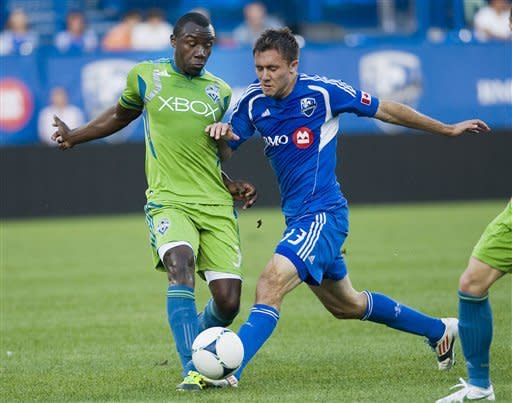 Bernier's 3 assists lifts Impact over Sounders 4-1