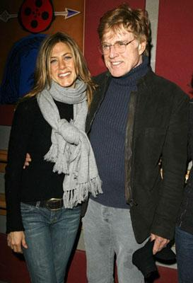 Jennifer Aniston and Robert Redford Friends With Money Premiere - 1/19/2006 2006 Sundance Film Festival