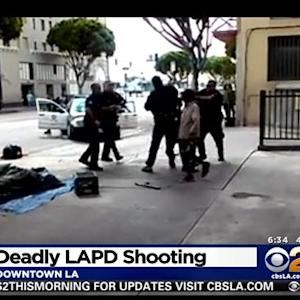 Deadly Officer-Involved Shooting On Skid Row Caught On Camera Under Investigation