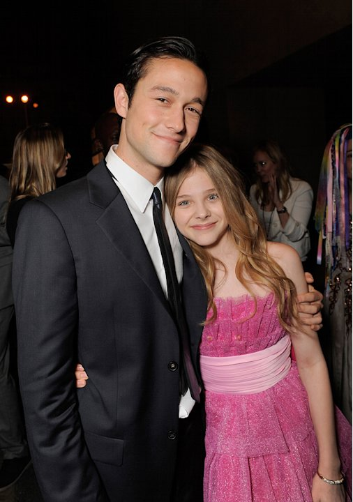 Chloe Grace Moretz 2009 Joseph Gordon levitt