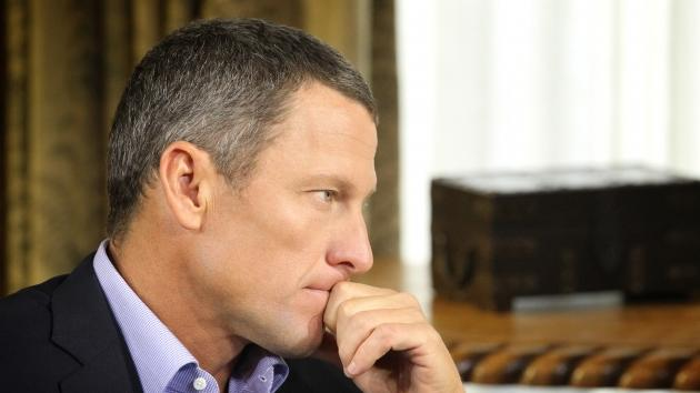 Lance Armstrong during an interview regarding the controversy surrounding his cycling career January 14, 2013 in Austin, Texas --