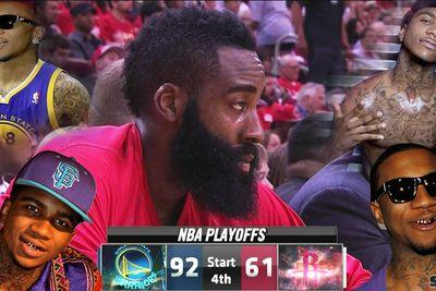 Lil B renews threats on James Harden via Kevin Durant's jersey number
