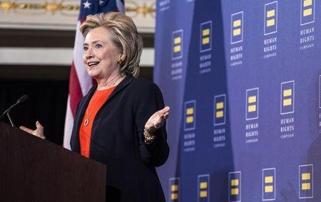Clinton gets endorsement of largest U.S. labor union
