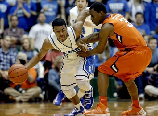 No. 1 Duke clamps down on Clemson in 68-40 win
