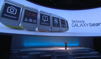 Samsung Introduces Galaxy Gear Smartwatch