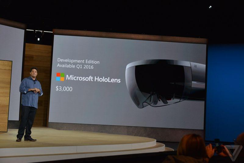 Microsoft now taking applications for $3,000 HoloLens development kits
