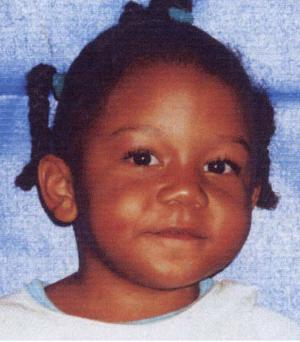 ** FILE **Rilya Wilson is seen in an undated file photo from Miami-Dade Police. The trial for Geralyn Graham accused of killing Wilson a decade ago started Monday Nov. 26, 2012.    (AP Photo/Miami-Dade Police Department)