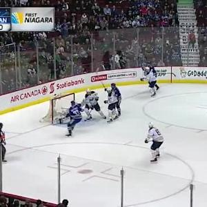 Matt Hackett Save on Shawn Matthias (06:21/1st)